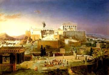 Reconstruction of Athens