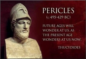 pericles - quote