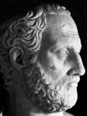 Thucydides bust