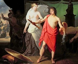 Achilles and Thetis in the Woman of Phthia