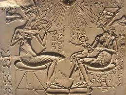 Akhenaten with his children