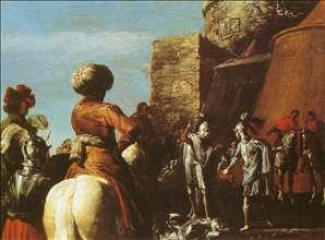 The quarrel between Odysseus and Ajax