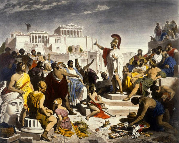 Image result for direct democracy athens