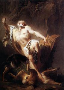Death of Milo of Croton