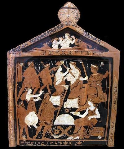 Votive of the Eleusisian Mysteries