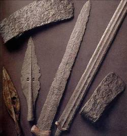 Iron weapons