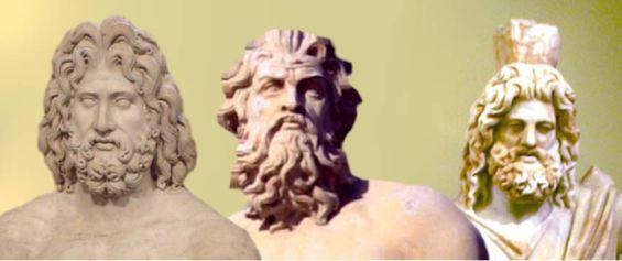 Zeus, Poseidon and Hades