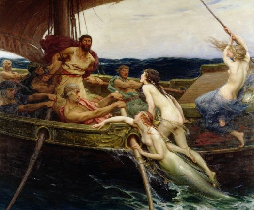 The Sirens in the Odyssey