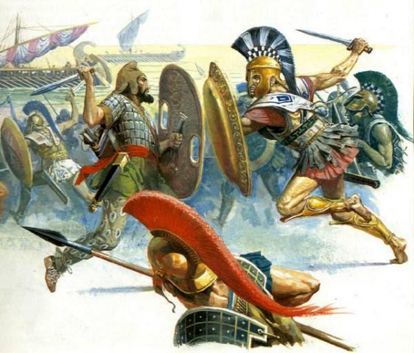 Peloponnesian War Depiction