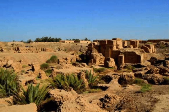 Archeological site of the Palace