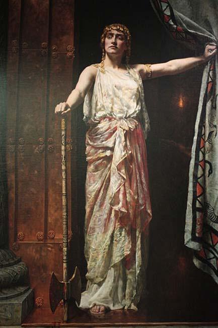 Painting of Clytemnestra