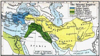 Map of Parthia