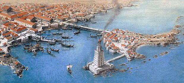 Harbor of Alexandria, Egypt