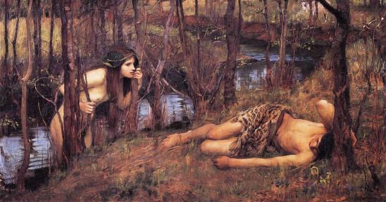 Painting of Naiad