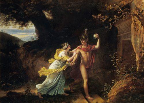 Ariadne and Theseus