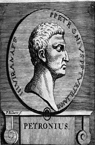Drawing of Petronius from the 18th century