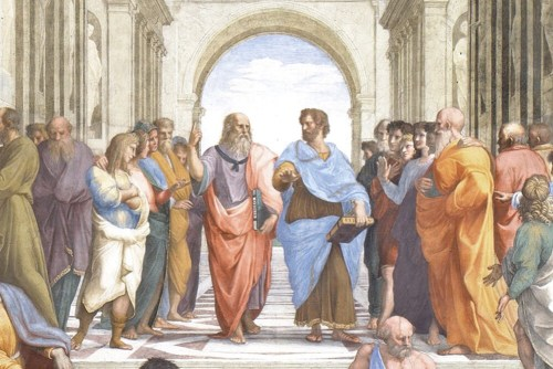 Raphael's The School of Athens (detail)