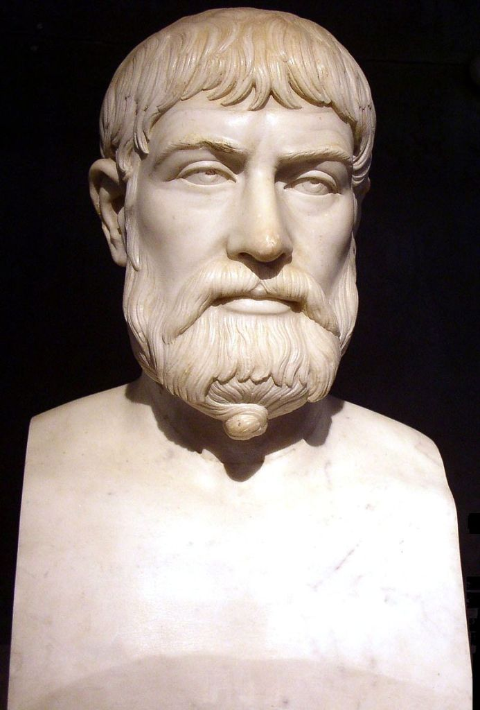 A Roman Copy of a Bust of Pindar