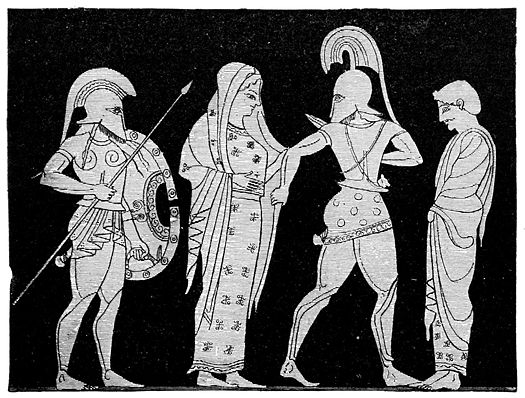 Helen and Menelaus