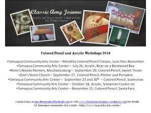 Workshop Schedule 2014