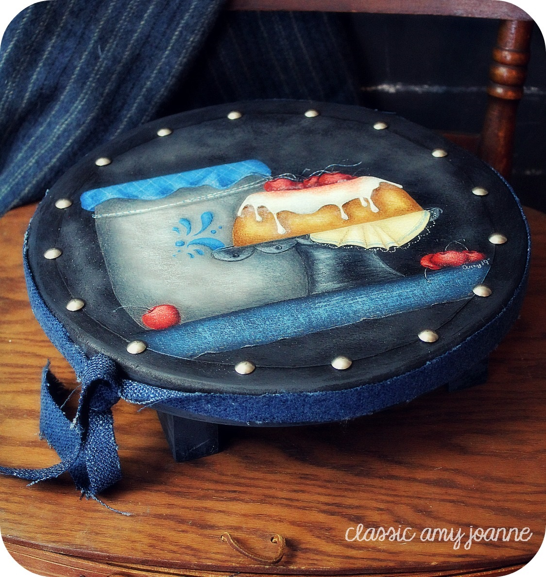 denim and cherry cake 2