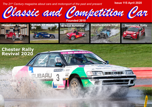 Classic and Competition Car 115 April 2020