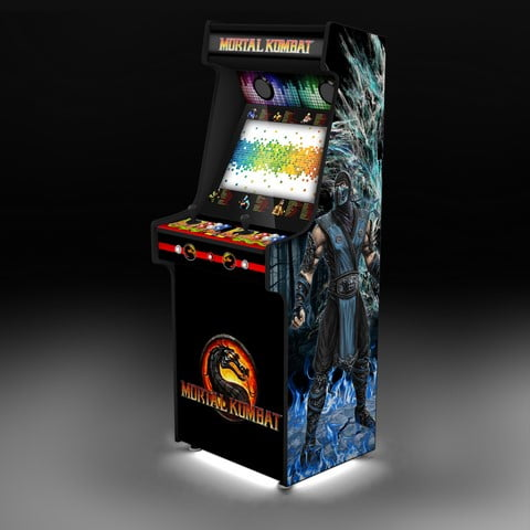 mortal kombat upright arcade