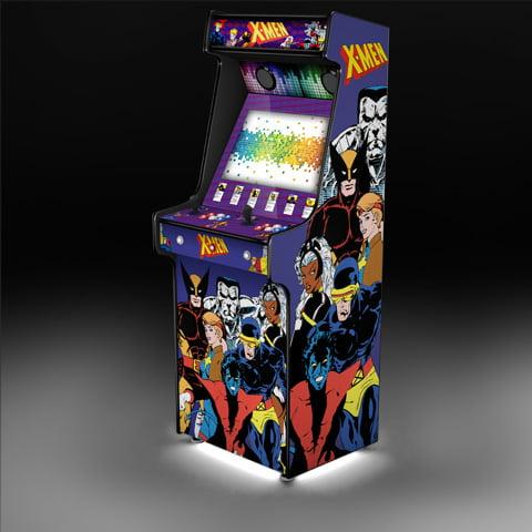 x men arcade machine
