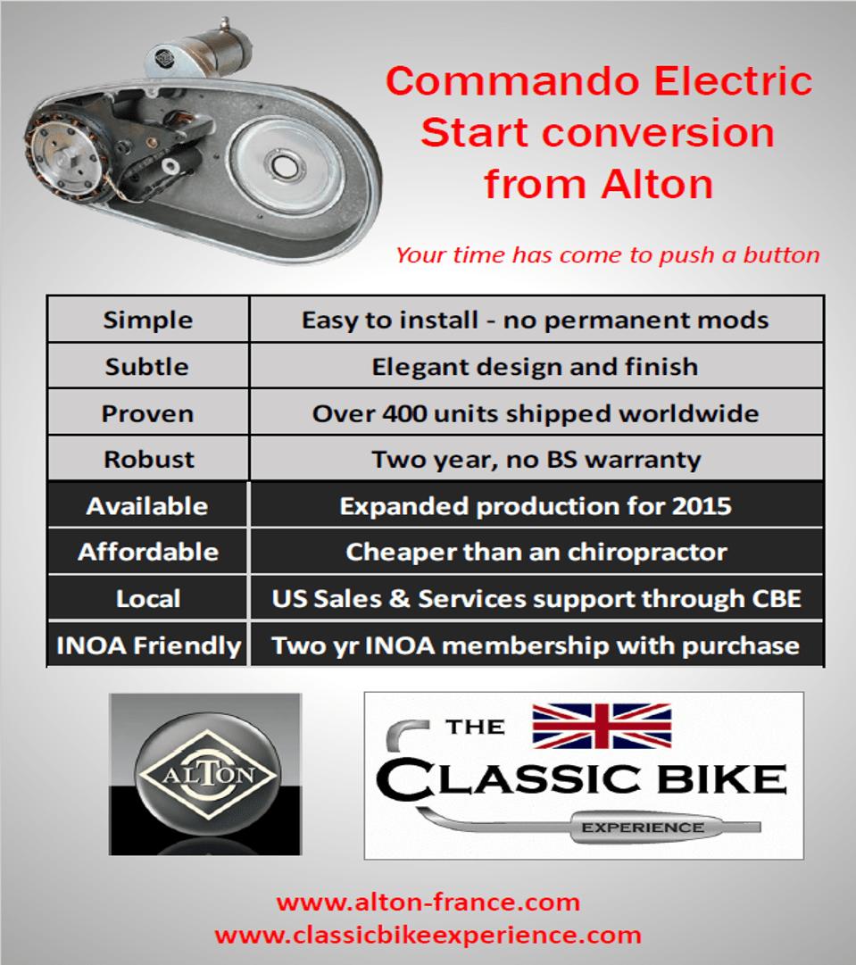 medium resolution of alton estart for norton classic bike experiencealton alternator wiring diagram 14