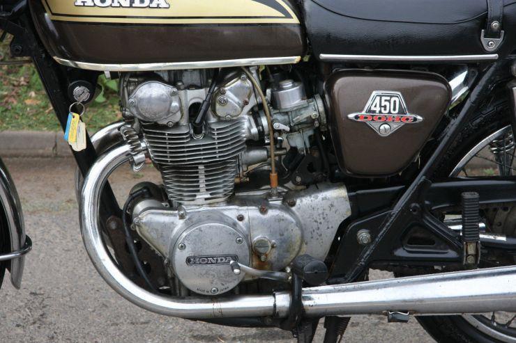 Honda CB450 CB 450 BARN FIND Restoration Project FOR SALE 10