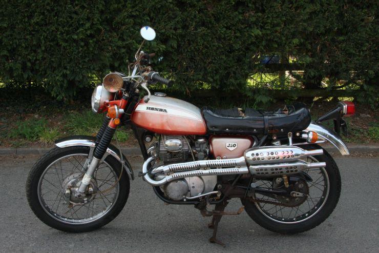 1 Honda CL350 CL 350 1970 K2 BARN FIND For Sale