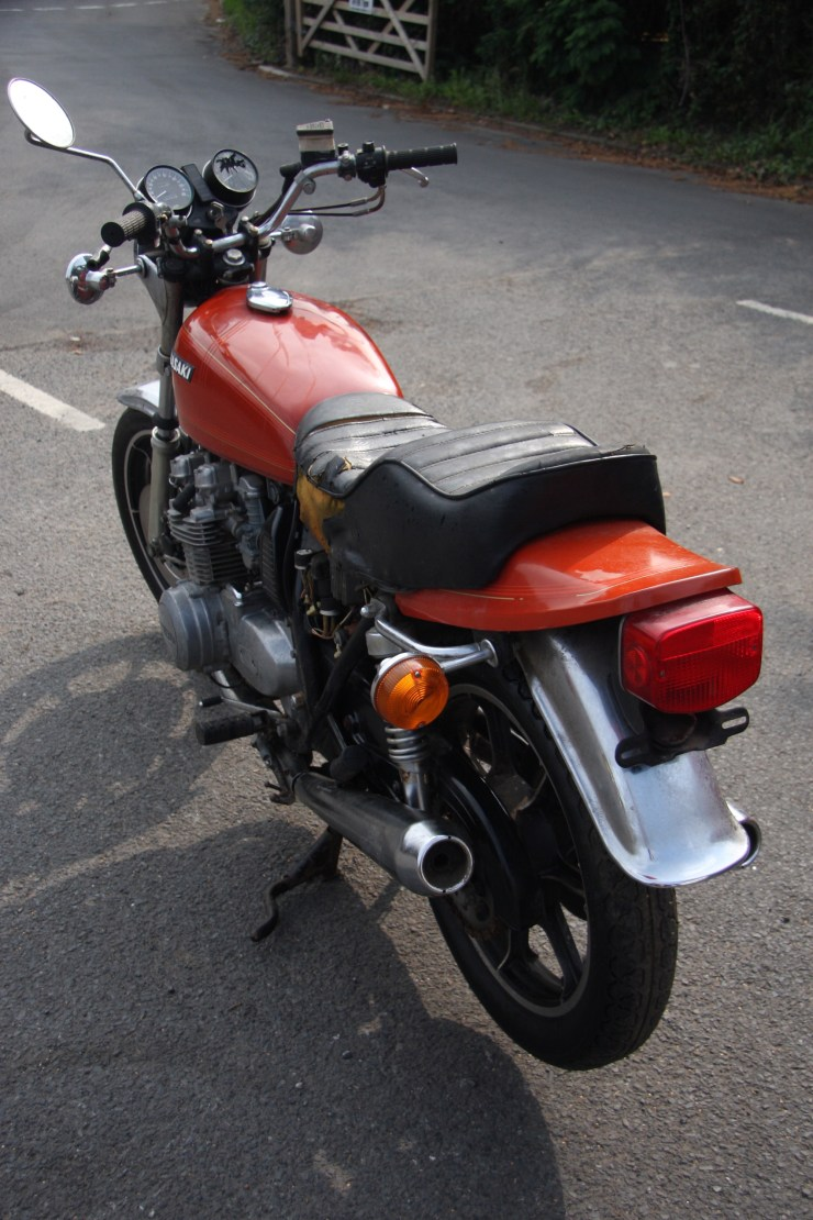Kawasaki KZ650 KZ 650 1977 BARN FIND restoration project *A MUST SEE