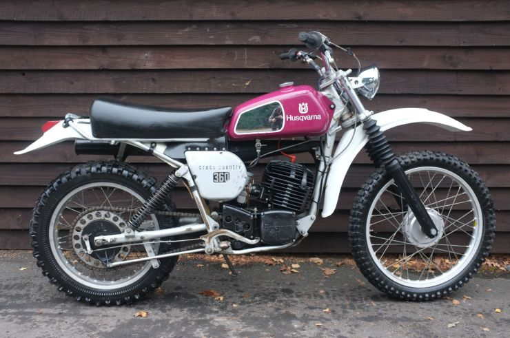 Husqvarna 360 WR 360WR 360 Cross Country 1976 For Sale