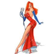 famous fictional female red heads