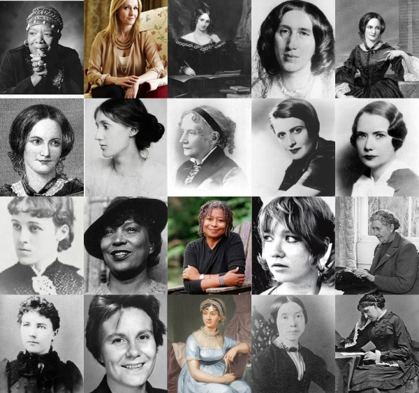 Influential Women Authors Of Time 100