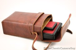 This beautiful leather case actually came with my other SX-70, but I could not resist pairing the two together!