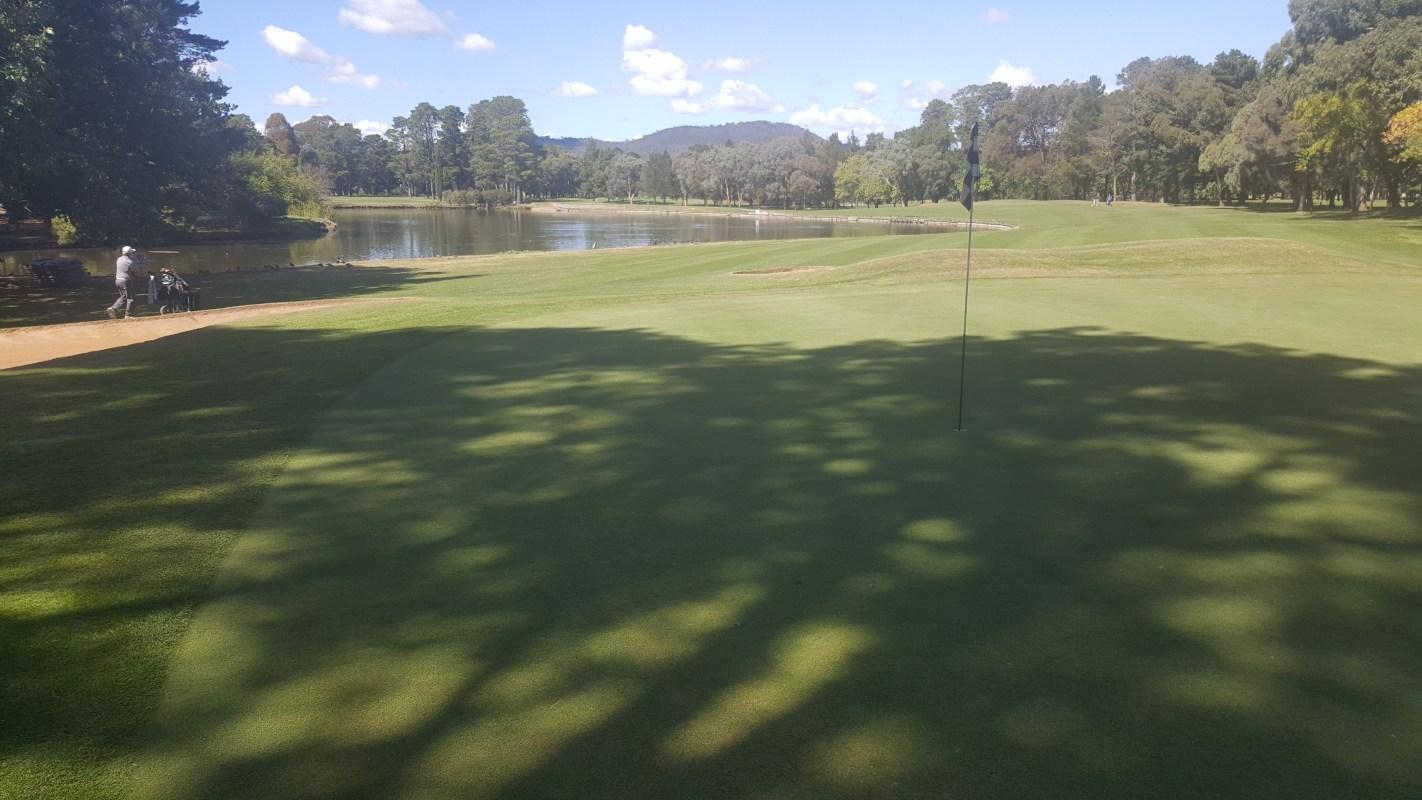 11th Green Yowani Country Club
