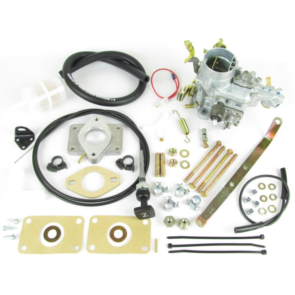 medium resolution of weber 34 ich carb carburettor kit vw volkswagen golf jetta 1093cc