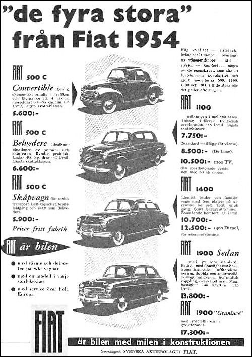 Fiat 1954