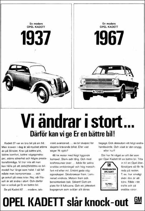 Opel 1967