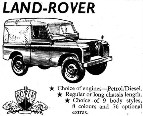 Rover 1960