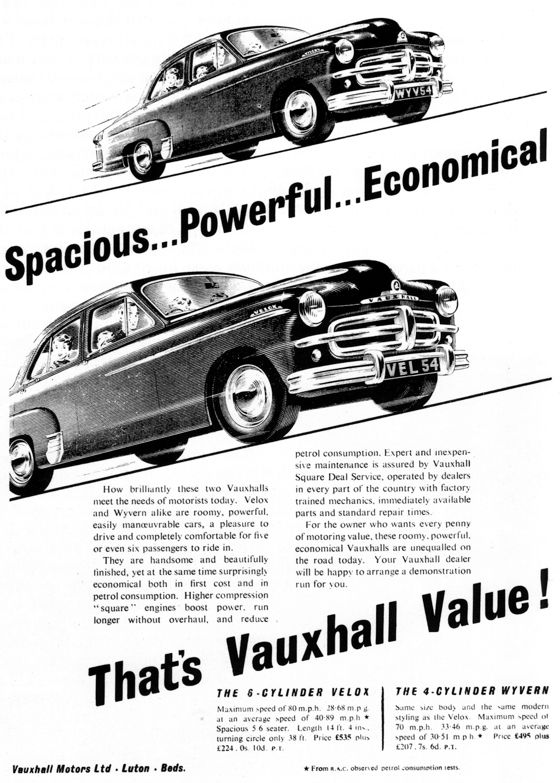Vauxhall 1954