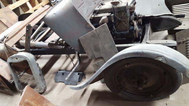 Front Rat Axle Complete Rod
