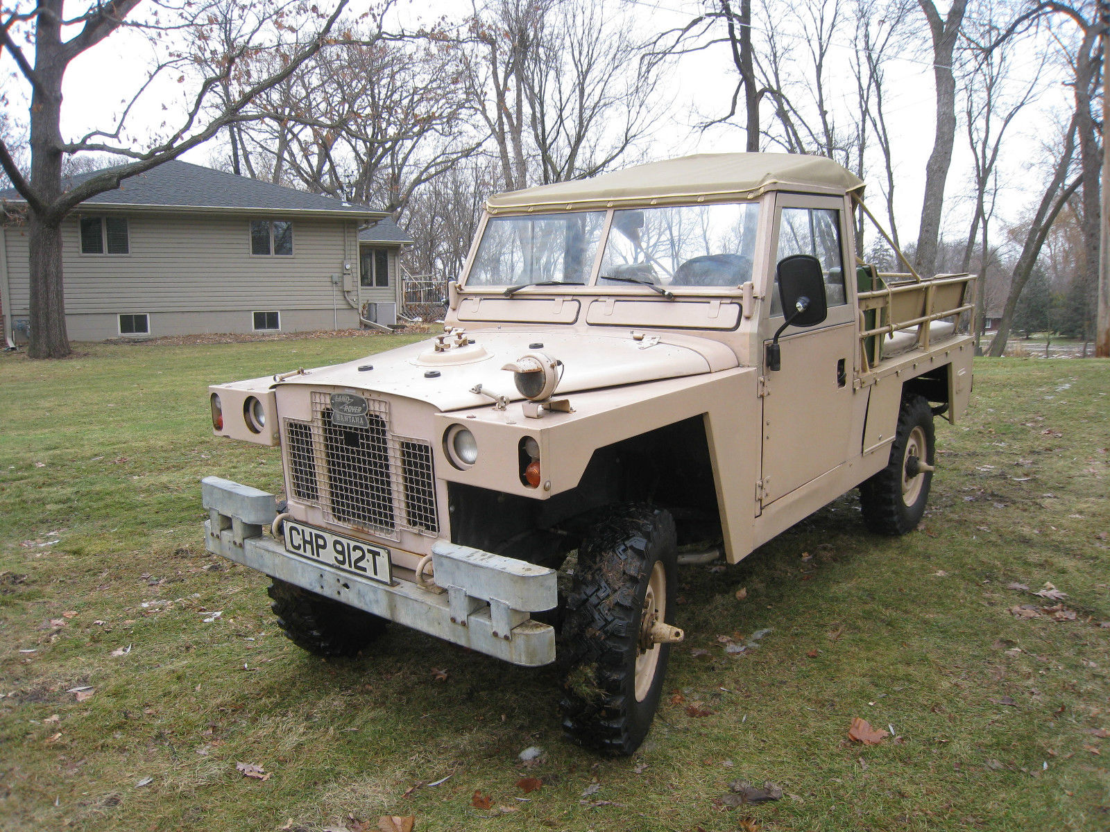 1978 Land Rover Military Series 109 Lightweight not Defender