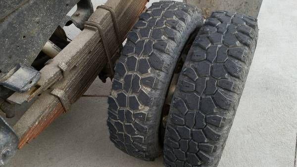 Dually Pickup Truck Rims