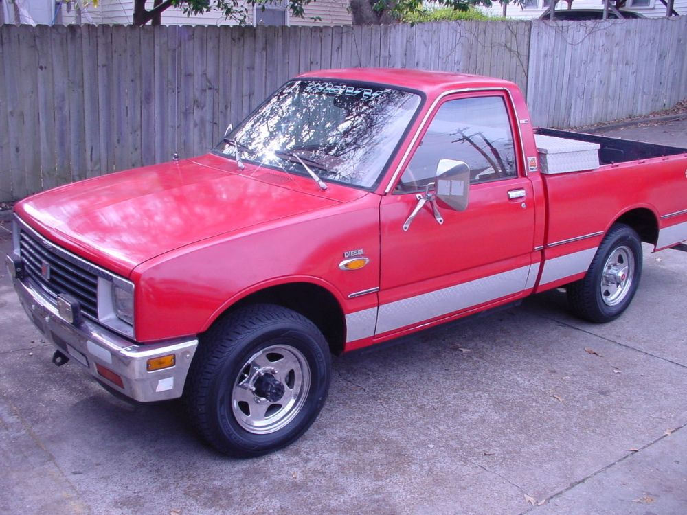 medium resolution of 1983 chevy luv diesel 4x4 4wd nice isuzu pup
