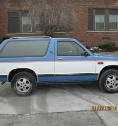 1985 chevy s10 blazer gmc jimmy 4x4 rust free excellent condition no issues [ 1600 x 1200 Pixel ]