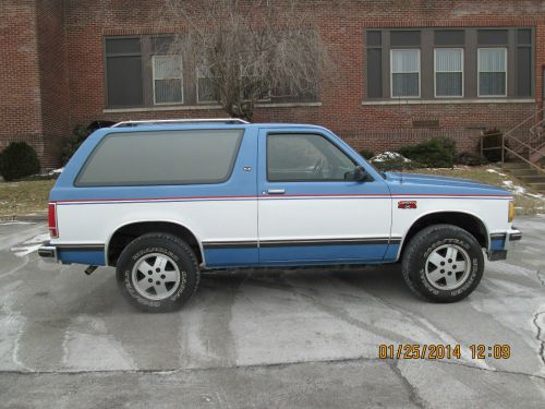 small resolution of 1985 chevy s10 blazer gmc jimmy 4x4 rust free excellent condition no issues