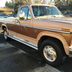 Ford F 250 Schlosstr Ger Electrical Wiring Diagrams Light Switch 1985 Diesel Low Miles Family Owned For Sale In