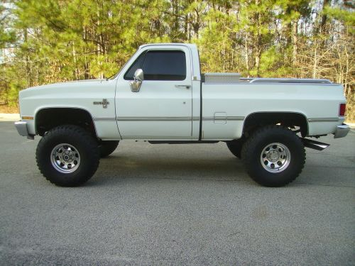 small resolution of 1987 chevy silverado 4x4 swb truck 350 fi engine p s p b a c heat new tires nice